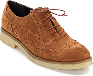 Amazon.es: Blanco - Oxford y blucher / Zapatos planos ...