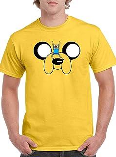 The Fan Tee Camiseta de Hombre Hora de Aventuras Jake Finn 011