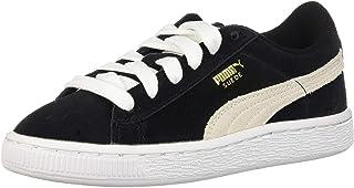 PUMA unisex-child Suede Jr Sneaker