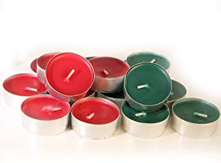 red tea lights bulk