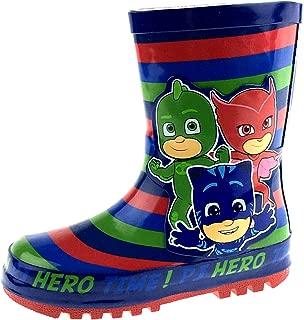 PJ Masks Boys Rubber Wellington Boots Rain Shoes