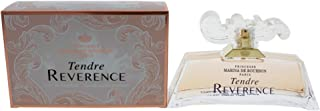 Tendre Reverence by Princesse Marina de Bourbon | Eau de Parfum Spray | Fragrance for Women | Sweet Floral Scent with Notes of Peach, Pink Peony, and Magnolia | 100 mL / 3.4 fl oz