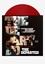 Music From The Motion Picture The Departed - Exclusive Limited Edition Red & Black Marble Colored Vinyl LP