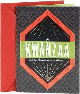 Hallmark Mahogany Kwanzaa Card (Celebrating One Another)