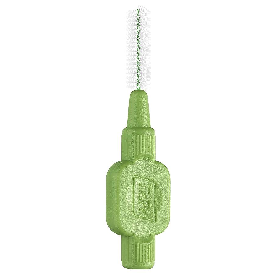 可動式想像する忌まわしいTepe Green Interdental Brush 0.8mm 25 Pack by TePe