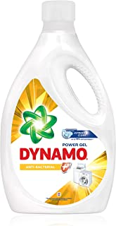 Dynamo Power Gel Laundry Detergent Anti-Bacterial, 2.7kg