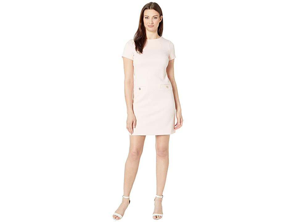 Tommy Hilfiger Knit Pocket Dress (Powder) Women