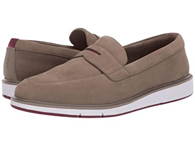 SWIMS Motion Penny Loafer (Timber Wolf/Cabernet) Men