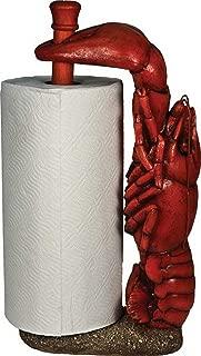 River's Edge Crawfish Paper Towel Holder