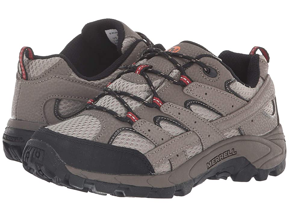 Merrell Kids Moab 2 Low Lace (Little Kid) (Bark Brown) Boys Shoes