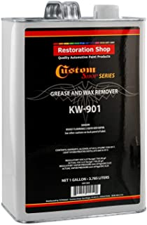 Custom Shop Restoration KW901 - Automotive Grease and Wax Remover Surface Prep Cleaner for before Automobile