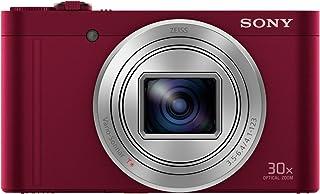 Sony Cyber-Shot DSC-WX500 - Cámara compacta de 18 MP (Pantalla de 3 Zoom óptico 30x Sensor Exmor R Pantalla para Selfies Wi-fi/NFC) Rojo