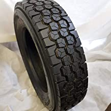 (6-TIRES) 225/70R19.5 H/16 NEW ROAD WARRIOR 2 STEER AP and 4 DRIVE TIRES # D955 14 PLY 22570195