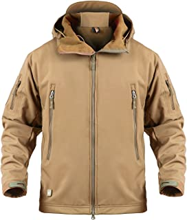 ReFire Gear Men's Army Tactical Softshell Jacket Military Waterproof Outdoor Windbreaker Coat