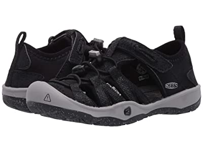 Keen Kids Moxie Sandal (Toddler/Little Kid) (Black/Drizzle) Girl