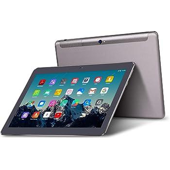 Tablet 10 Pulgadas 4G LTE Dual Sim - TOSCIDO Android 9.0 , Quad Core,64GM ROM,4GB RAM,Doble Altavoz Estéreo,WiFi/Bluetooth/GPS/OTG - Negro: Amazon.es: Informática