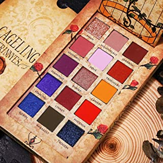 Cageling Caged Birds Magic Wind Series Cocohot 15 Color Eye Shadow Pallet Set (A1)