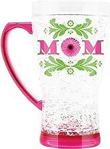 كوب متوهج من الكريستال لعيد الأم | رائع للمشروبات | سعة 473 مل