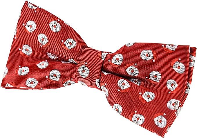 Retreez Herren Gewebte vorgebundene Weihnachten Fliege Weihnachtsmann 13 cm