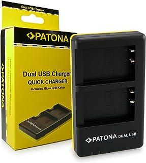 PATONA Cargador Doble para LP-E17 Batería Compatible con Canon EOS 750D 760D 8000D Kiss X8i M3 Rebel T6i T6s
