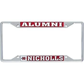 Desert Cactus Francis Marion University FMU Patriots Pats NCAA Metal License Plate Frame for Front or Back of Car Officially Licensed Alumni