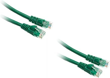ACL 75 Feet RJ45 Snagless//Molded Boot Yellow Cat6 Ethernet Lan Cable 1 Pack