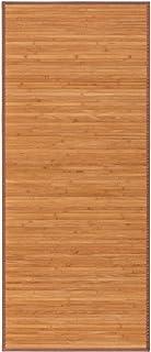 Alfombra pasillera Oriental marrón de bambú de 75 x 175 cm Sol Naciente - LOLAhome