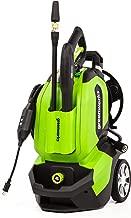 Greenworks GPW1802 Pressure Washer, 1800 PSI, green