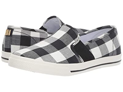 LAUREN Ralph Lauren Jinny Sneaker (Black/White Large Gingham Check) Women