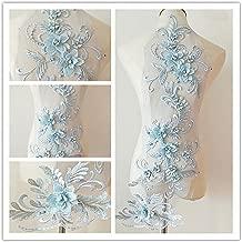 Best white beaded lace applique Reviews