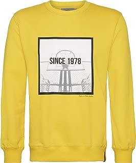 Calvin Klein sweatshirt for men in Yellow, Size:XL