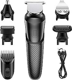 Babacom Tondeuse Cheveux Hommes, 5 en 1 Tondeuse B