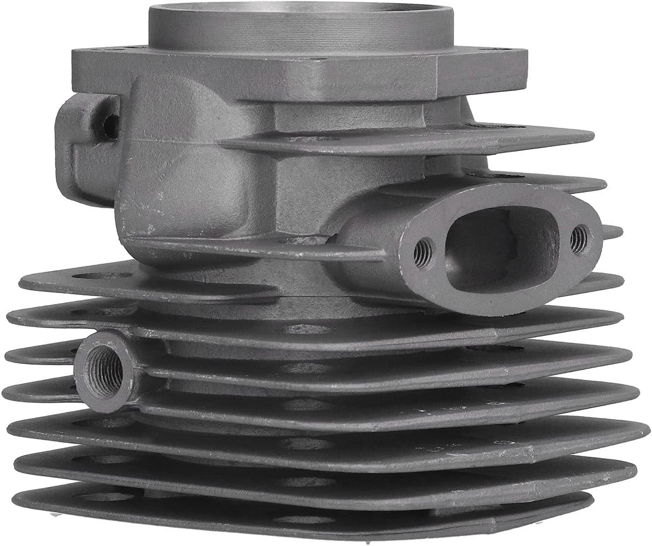 Juego de pistón de culata de 54 mm, juego de anillo de pistón de junta de cilindro, repuesto para motosierra Husqvarna 288XP 181281288