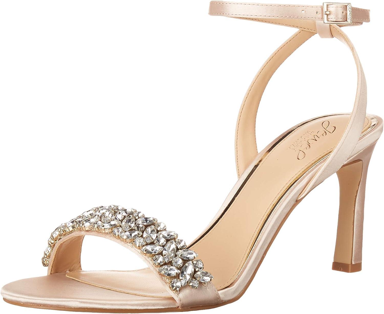 Jewel Badgley Mischka Women's Baltimore It Year-end annual account is very popular Heeled Sandal