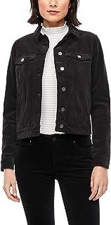 s.Oliver Damen Lässige Jacke aus Feincord