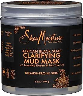 Shea Moisture African Black Soap Clarifying Mud Mask, 6 Ounce