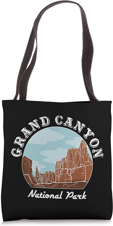 Vintage National Park Tshirt Grand Canyon National Park Tote Bag