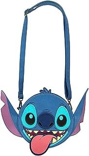 Disney Stitch Face Crossbody Bag Purse by Loungefly