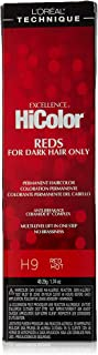 L'Oreal Red Hot Permanent Creme Hair Color Red Hot