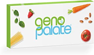 GenoPalate Home DNA Test, Health & Nutrition Genetic Profile for Food Sensitivities & The 85+ Healthiest Foods for You