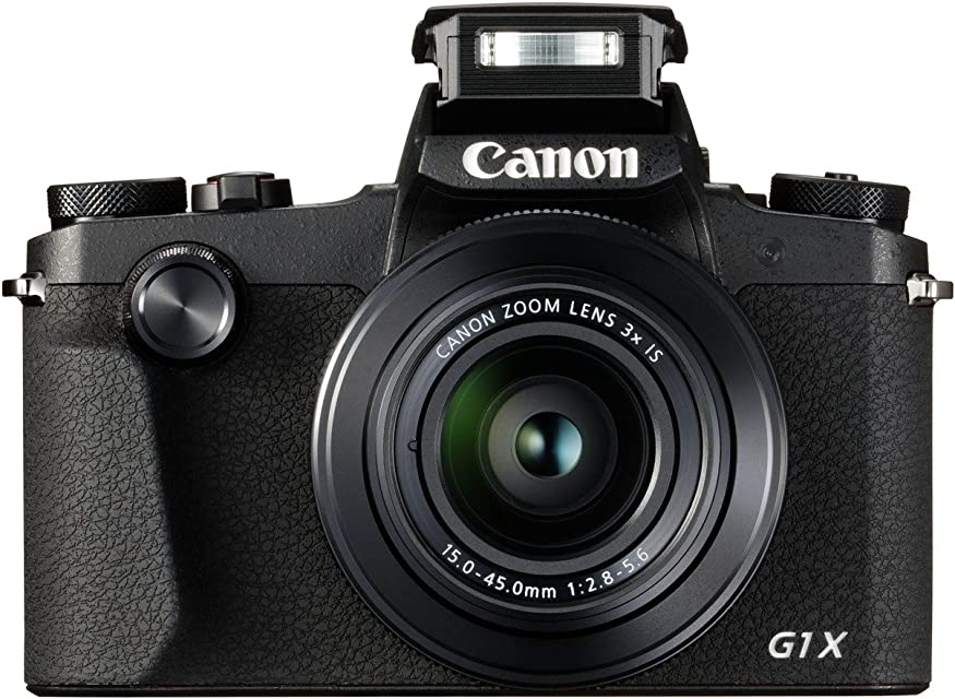 Canon PowerShot G1X Mark III - Cámara réflex de 24.2 MP (Dual Pixel CMOS AF Full HD DIGIC 7 Pantalla táctil LCD Bluetooth Sensor APS-C Visor OLED EVF) Color Negro