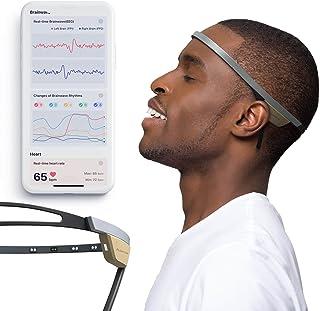 Flowtime:Biosensing Meditation Headband - Meditation Tracker - Heart Rate and Brainwave Sensors to Measure Breath, HRV, Pr...