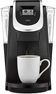 Keurig K200 Coffee Maker, Single Serve K-Cup Pod Coffee Brewer, With Strength Control, Black (Renewed)