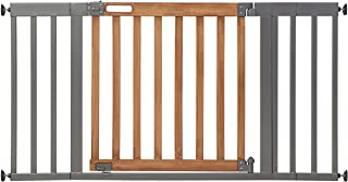 """Summer Infant West End Safety Gate, 36"""" - 60"""" Wide & 30"""" Tall, for Doorways & Stairways, with Auto-Close & Hold-Open, Hone..."""