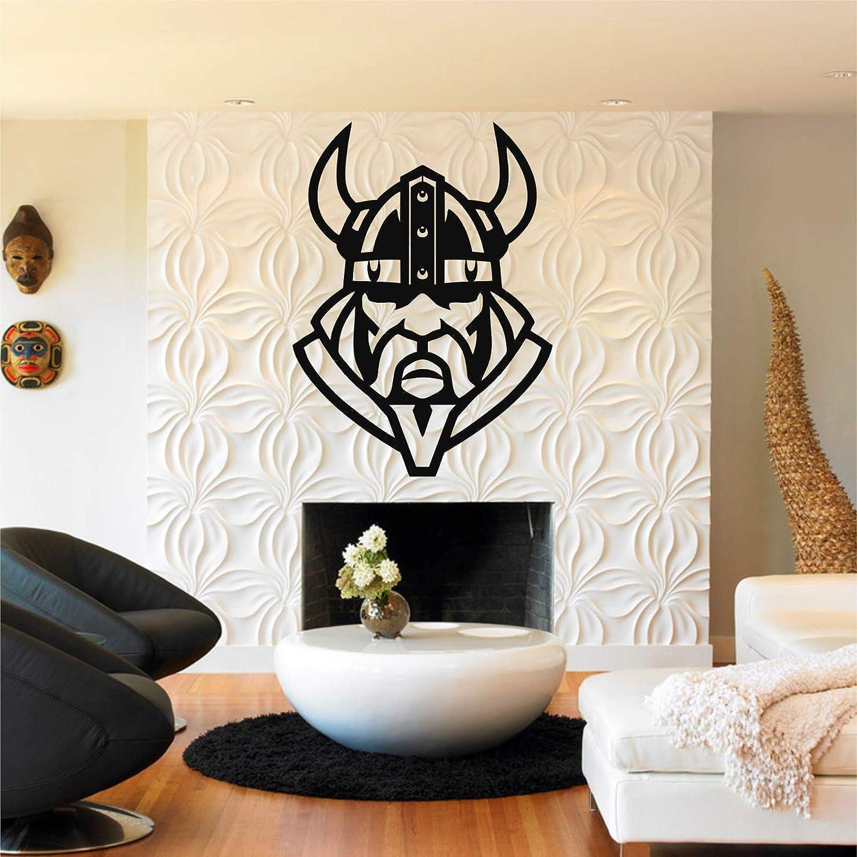 Amazon Com Metal Viking Decor Silhouette Nordic Mythology Home Office Decoration Norwegian Art Wall 29 W X 39 H 73x100 Cm Everything Else