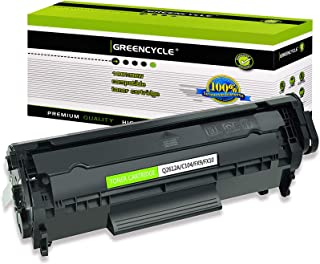Best GREENCYCLE Toner Cartridge Replacement Compatible for HP 12A Q2612A (Black) Laserjet 1010 1012 1018 1020 Printer Review