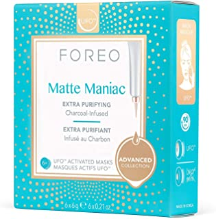 FOREO Matte Maniac UFO-Activated Mask, 6g 6 count