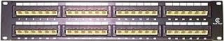 StarTech.com 2U 48 Port Rackmount Cat5e 110 Patch Panel - 45 Degree