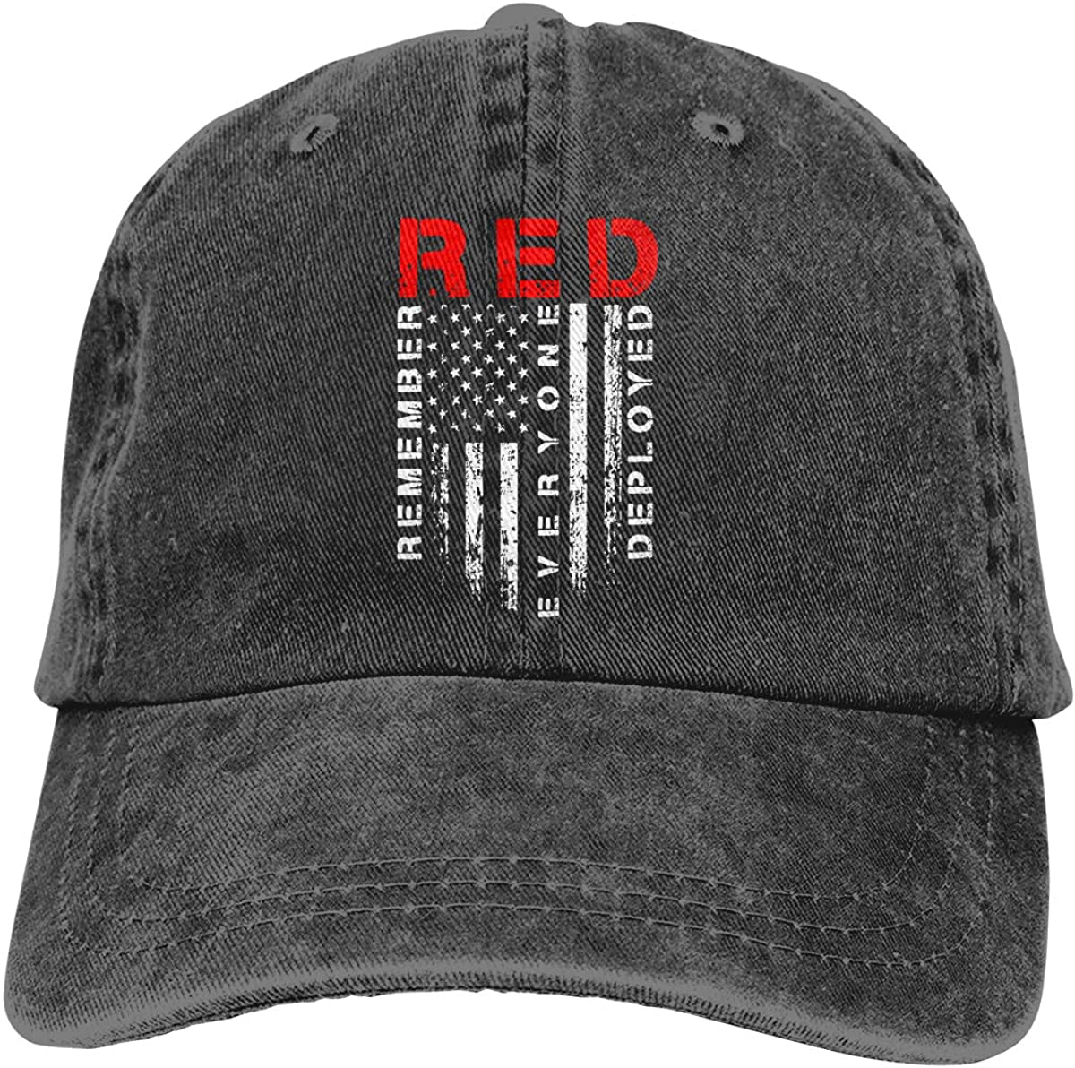 Red Friday Remember Everyone Deployed Unisex Baseball Cap Cowboy Hat Dad Hats Trucker Hat