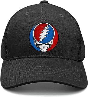 2406a0d82bfb6 HJHJFT Mens Woman Adjustable Trucker Hat Grateful-Style-Dead-Symbol-Steal